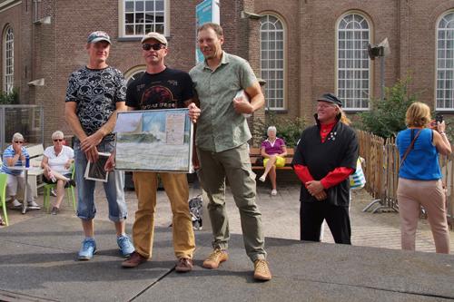 prijsuitreiking europees kampioenschap zandsculpturen 2013