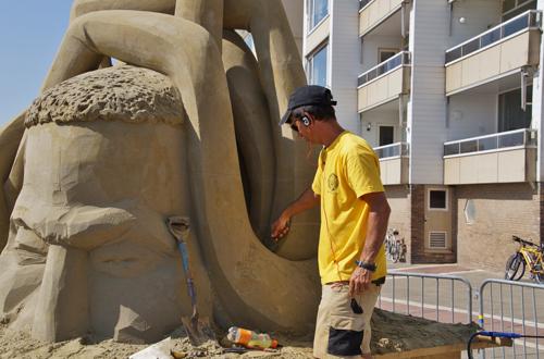 zandsculptuur 2014 2de serie