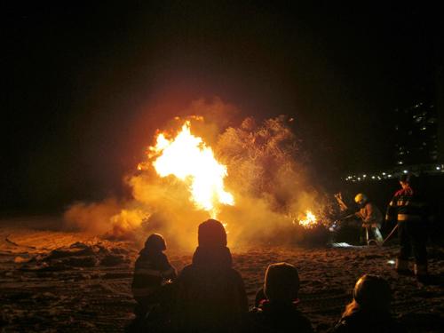 kerstbomen verbranding 2015